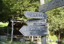 Maienfeld, indicazioni locali