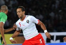 Medhi Benatia, fonte Di Photo by mustapha_ennaimiCropped by Danyele - Flickr (original photo), CC BY 2.0, https://commons.wikimedia.org/w/index.php?curid=50940840
