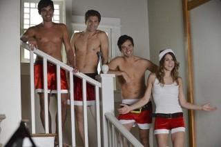 Caleb, Toby, Ezra e Paige di Pretty Little Liars