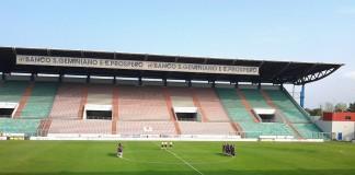 Mapei Stadium, casa del Sassuolo, fonte By RegSimo at Italian Wikipedia - Transferred fromit.wikipediato Commons., Public Domain, https://commons.wikimedia.org/w/index.php?curid=35585800