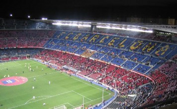 Camp Nou, stadio del Barcellona, fonte Flickr