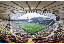 DaciArena, stadio dell'Udinese, fonte By Matteo.favi - Own work, CC BY-SA 4.0, https://commons.wikimedia.org/w/index.php?curid=46655435
