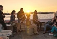 """Il cast di """"Sense8"""" in una scena della prima stagione, font flickr"""