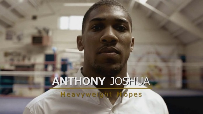 Anthony Joshua - screenshot da vimeo