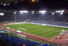 Stadio Olimpico, Roma, Lazio, fonte Di Alexdevil - Opera propria, CC BY-SA 3.0, https://commons.wikimedia.org/w/index.php?curid=13654146