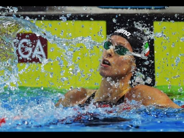 Federica Pellegrini grande protagonista agli Assoluti di Nuoto 2017 a Riccione (YouTube.com)