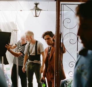 Kit Harington sul set, font Xavier Dolan's Instagram profile