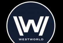 Westworld logo, font Wikimedia Commons