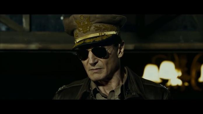 Liam Neeson in Operation Chromite, fonte screenshot youtube
