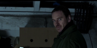 Michael Fassbender in The Snowman, fonte screenshot youtube