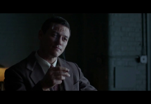 Luke Evans in Professor Marston & the Wonder Women, fonte screenshot youtube