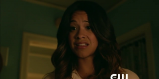 Gina Rodriguez in Jane The Virgin, fonte screenshot youtube