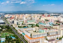 Un'immagine di Pyongyang fonte foto: By Mario Micklisch - https://www.flickr.com/photos/fvfavo/21562924049/in/album-72157658698033638/, CC BY 2.0, https://commons.wikimedia.org/w/index.php?curid=48731223