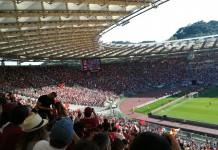 Curva Sud Roma, Stadio Olimpico