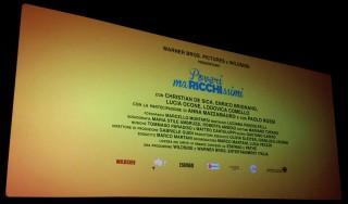 I crediti del film dove non compare il nome del regista