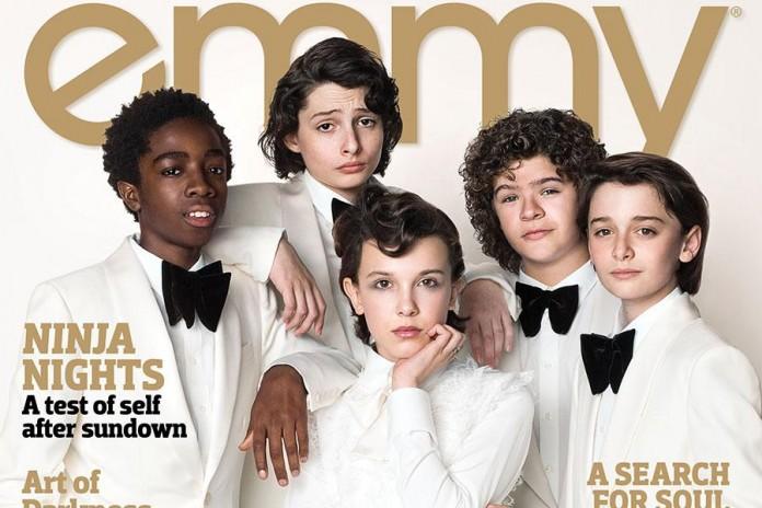 Cast di Stranger Things. Fonte: emmys.com