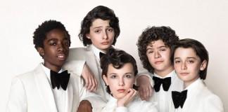 Cast di Stranger Things. Fonte: highsnobiety.com