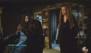 Anastasia e Gothel, Fonte Foto: Screenshot