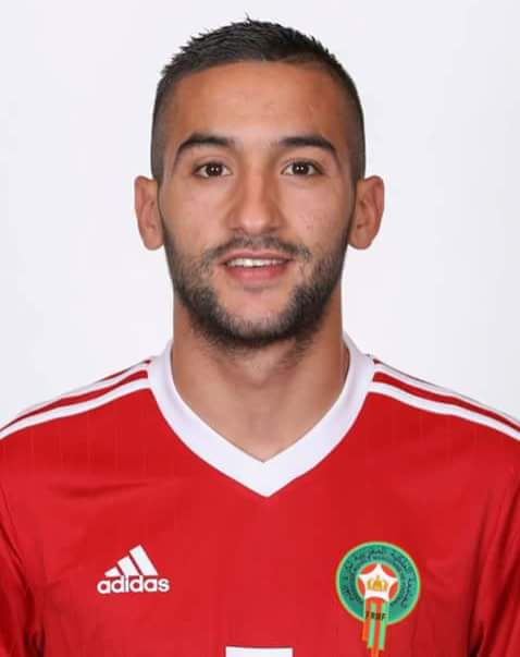 Hakim Ziyech, fonte By MarkBoot - Own work, CC BY-SA 4.0, https://commons.wikimedia.org/w/index.php?curid=70025567