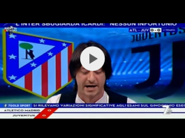 Ateltico Madrid-Juventus in onda su 7Gold, fonte screenshot Youtube