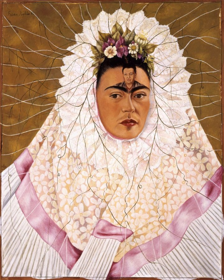 Frida Kahlo, Diego nella mia mente, 1943,The Jacques and Natasha Gelman Collection & The Vergel Foundation. Fonte: Artribune.com
