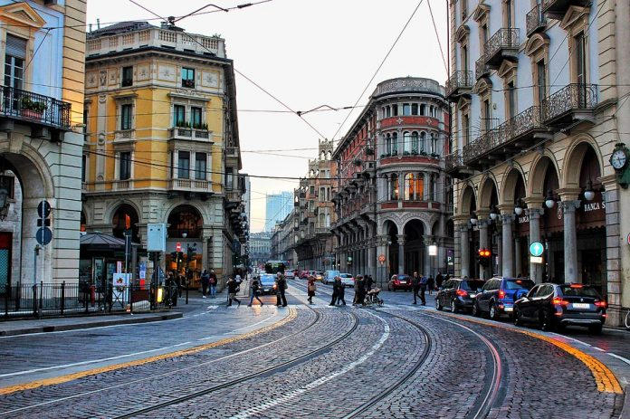 Torino, Italia, fonte Pixabay