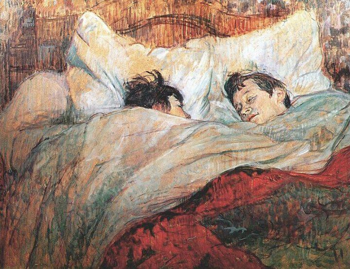 Henri de Toulouse-Lautrec, A letto, 1892, Musée d'Orsay, Parigi. Fonte: Wikipedia