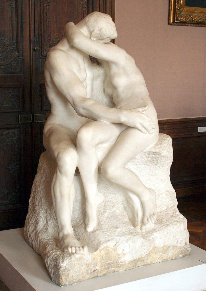 Auguste Rodin, Il bacio, 1988-89, Musée Rodin, Parigi. Fonte: Wikipedia