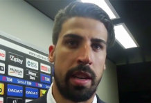 Sami Khedira, fonte screen Youtube