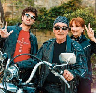 Luca Turco, Marzio Honorato e Marina Tagliaferri ( Niko Poggi, Renato Poggi e Giulia Poggi)