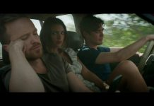 "Aaron Paul, Emily Ratajkowski e Riccardo Scamarcio in ""Welcome Home"", fonte screenshot youtube"