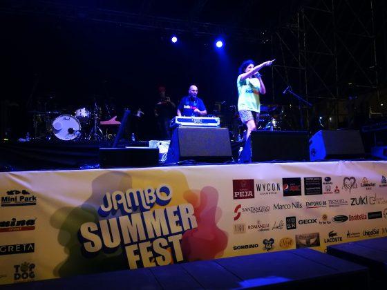 Mary Boccia sul palco