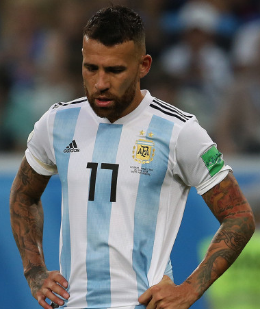 Nicolás Otamendi, fonte By Кирилл Венедиктов - https://www.soccer.ru/galery/1055457/photo/733525, CC BY-SA 3.0, https://commons.wikimedia.org/w/index.php?curid=70353118