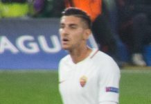 Lorenzo Pellegrini, fonte Di @cfcunofficial (Chelsea Debs) London - Chelsea 3 Roma 3, CC BY-SA 2.0, https://commons.wikimedia.org/w/index.php?curid=63538723