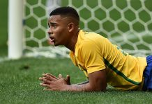 Gabriel Jesus, fonte By Andre Borges/Agência Brasília - Flickr - Jogo Brasil x África do Sul- Futebol masculino- Olimpíada Rio 2016, CC BY 2.0, https://commons.wikimedia.org/w/index.php?curid=50503031