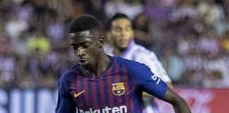 Ousmane Dembélé, fonte By www.realvalladolid.es - REAL VALLADOLID, 0; F.C. BARCELONA, 1 (LIGA 18/19, JORNADA 2, 25-08-2018), CC BY-SA 4.0, https://commons.wikimedia.org/w/index.php?curid=79326382