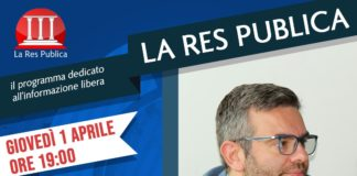 Gennaro Carotenuto ospite de 'La Res Publica' giovedì 1 aprile