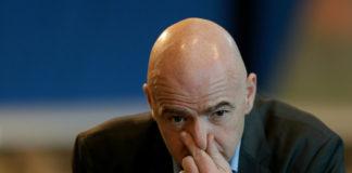 Infantino, presidente della FIFA