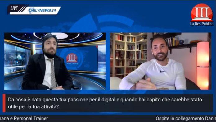 Il personal trainer Daniele Esposito a La Res Publica Con la pandemia è cambiato tutto, fare sport ti dà più sicurezza