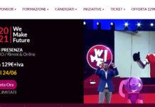 Il WMF torna in presenza: la 9a edizione del più grande Festival sull'Innovazione si terrà al Palacongressi di Rimini il 15, 16 e 17 luglio